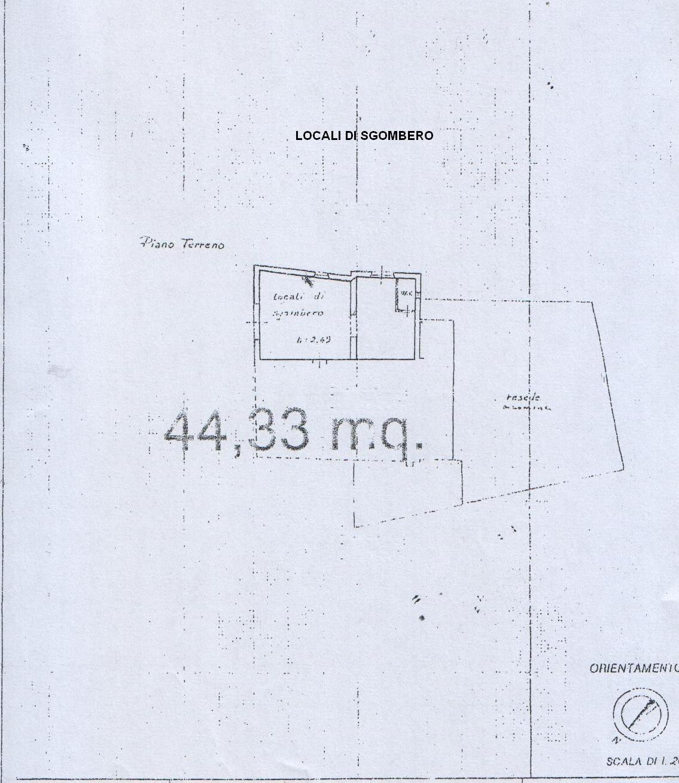 Planimetria 4/4 per rif. 8125