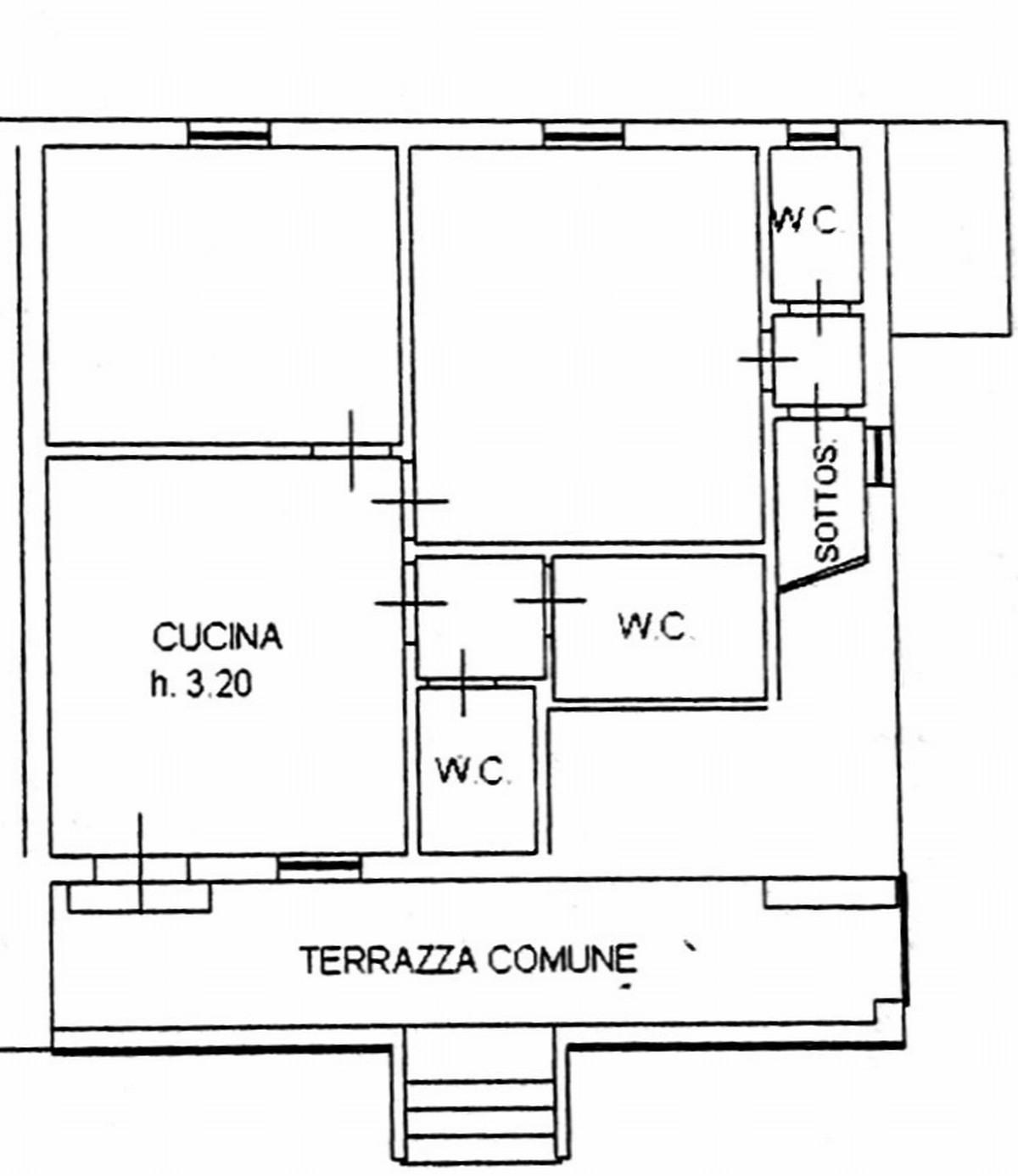 Planimetria 1/2 per rif. 8118-05