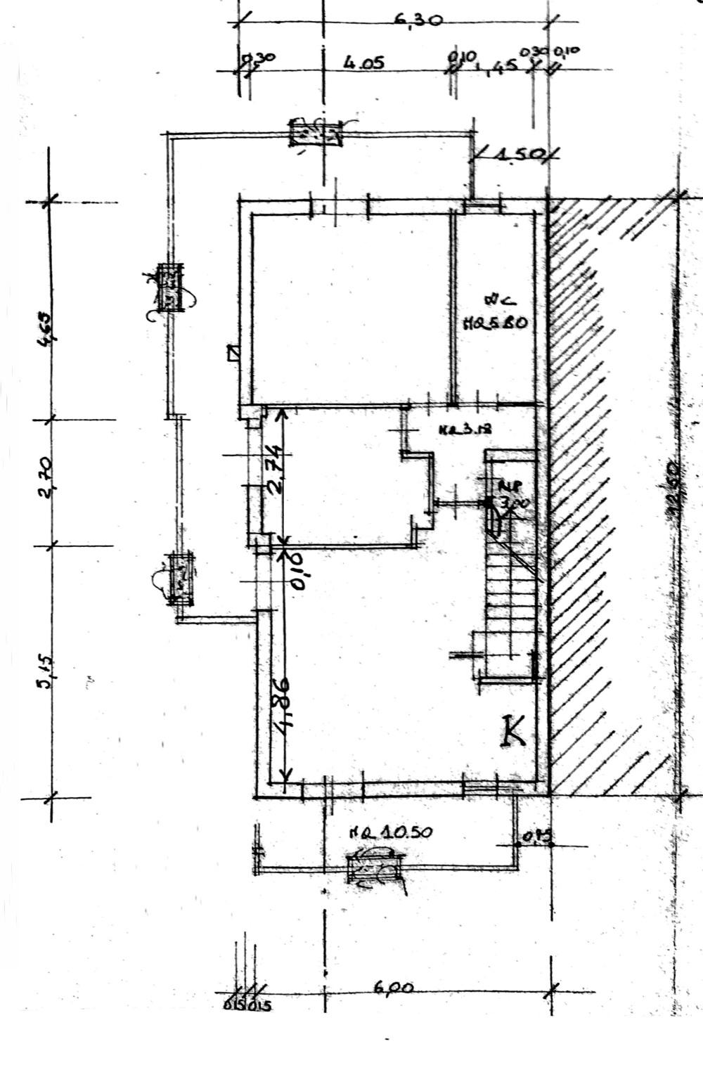 Planimetria 1/2 per rif. 8156-03