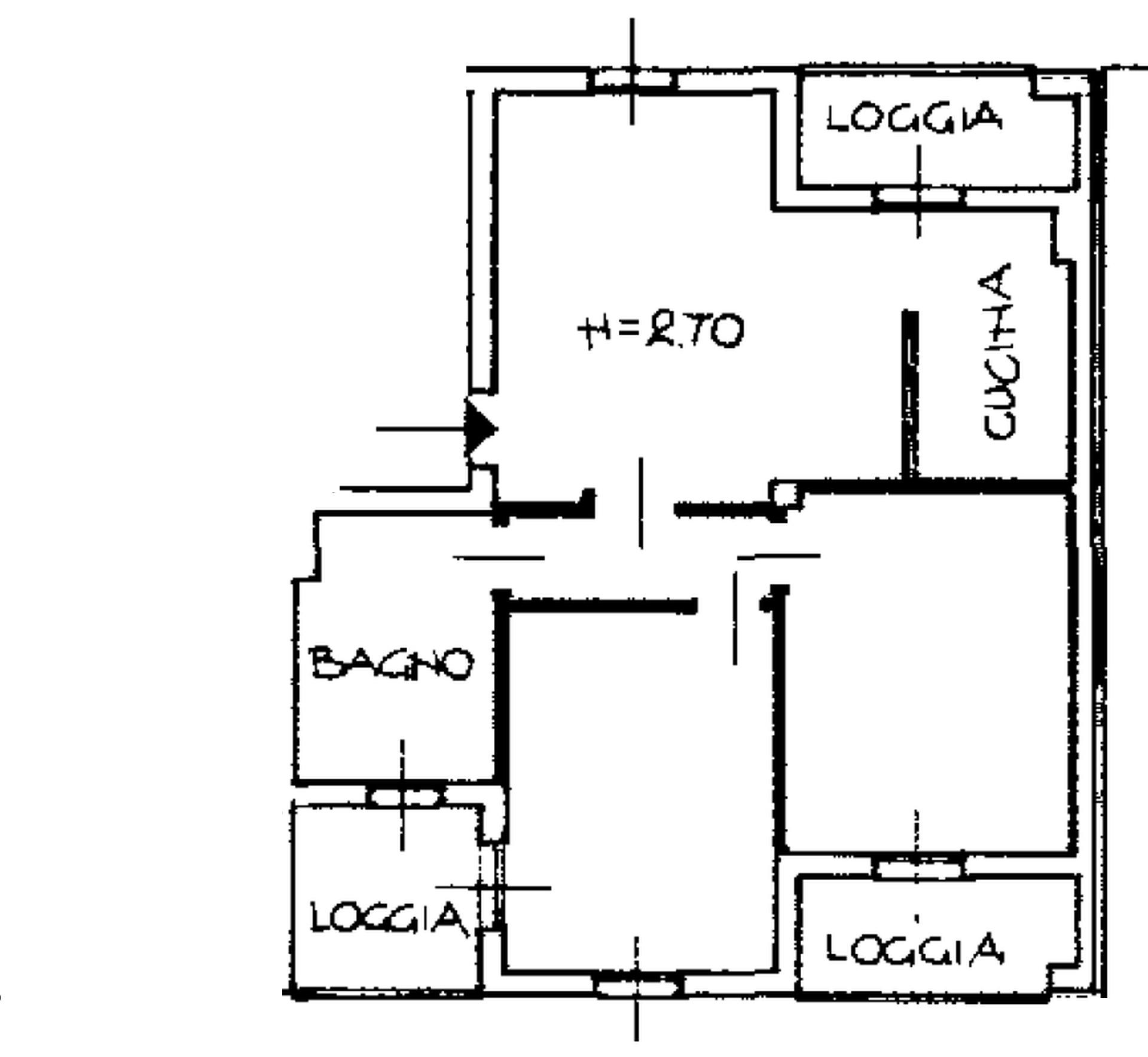 Planimetria 1/2 per rif. 8206-10