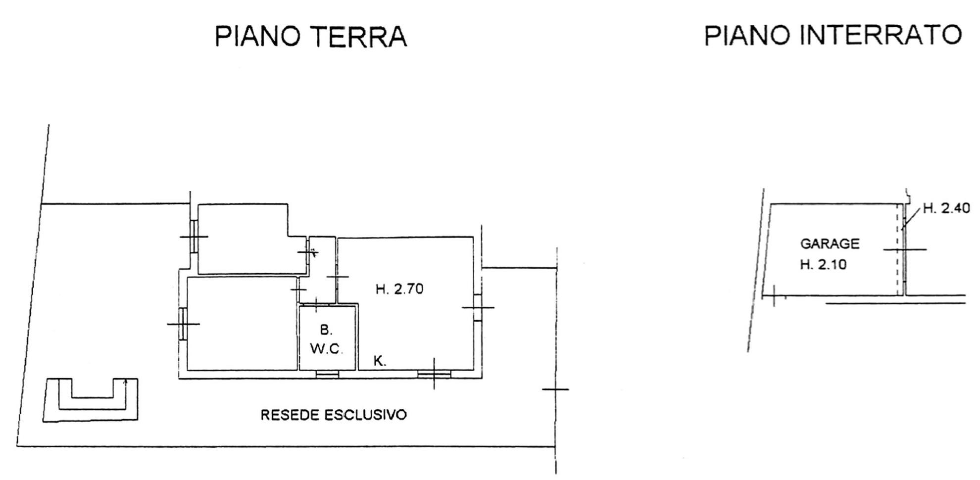 Planimetria 1/2 per rif. 8720