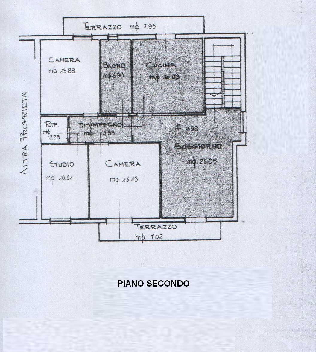 Planimetria 1/1 per rif. 8235