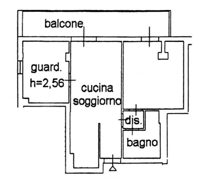 Planimetria 1/2 per rif. 6946-02