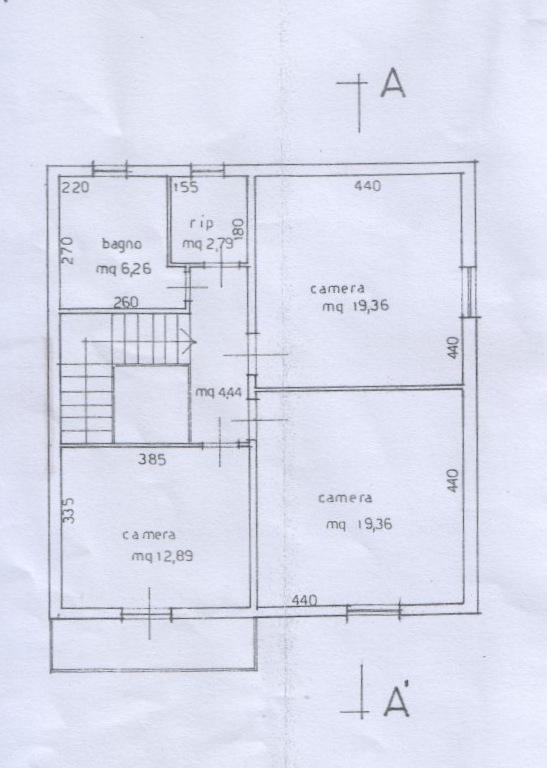 Planimetria 2/5 per rif. 6709-03