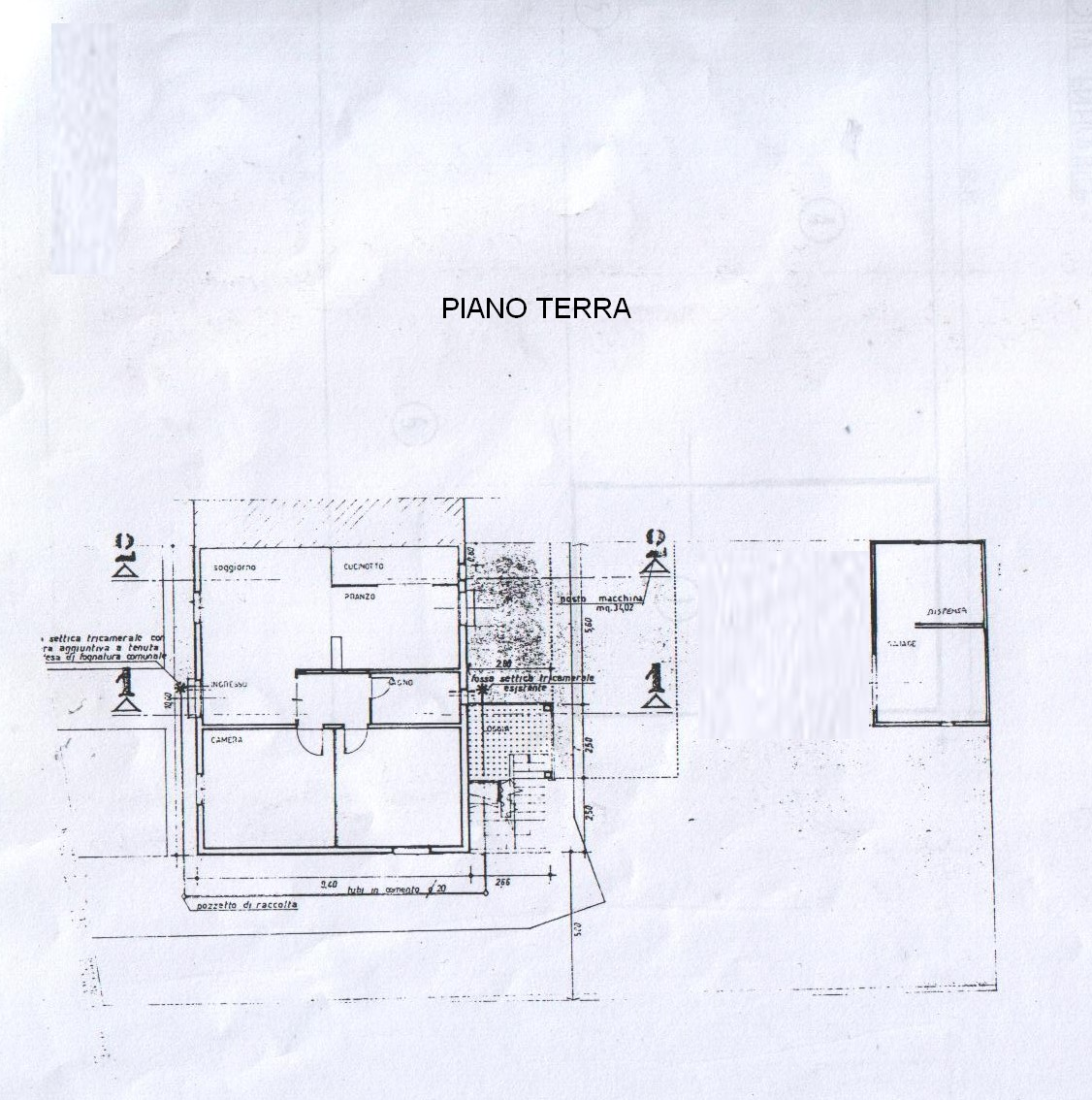 Planimetria 2/2 per rif. 5868-03
