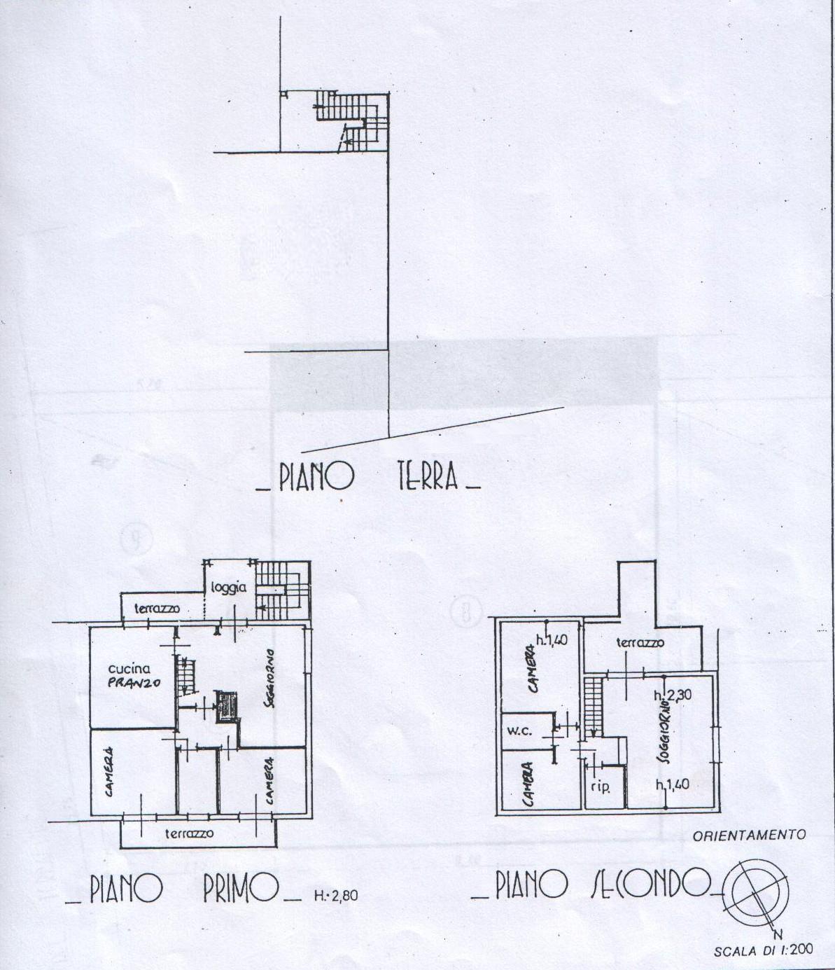 Planimetria 1/2 per rif. 5868-03