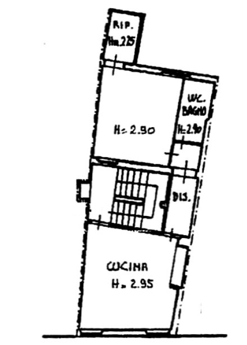 Planimetria 1/2 per rif. 8385-05