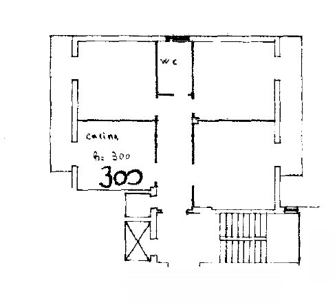 Planimetria 1/2 per rif. 8403-03