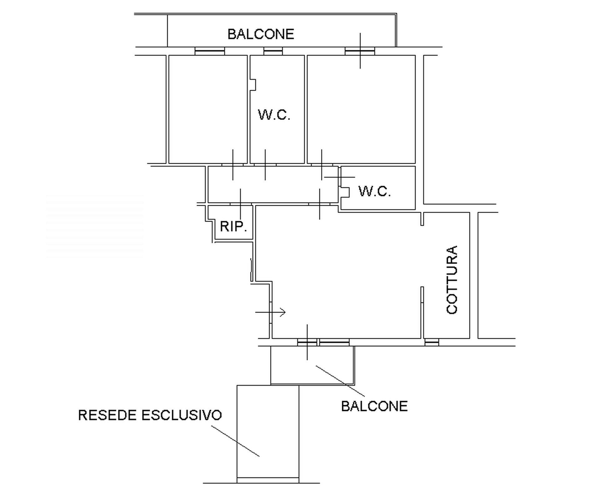 Planimetria 1/2 per rif. 8409-03