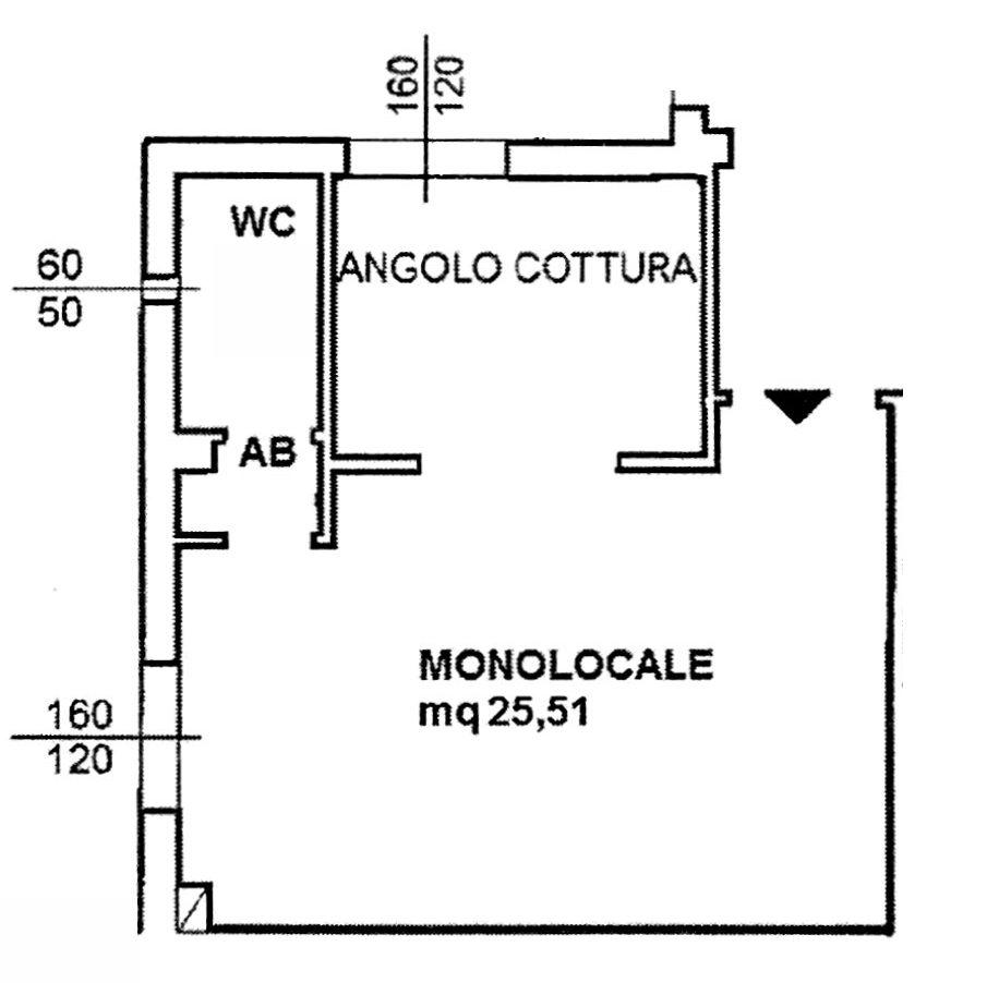 Planimetria 1/2 per rif. 8417-05