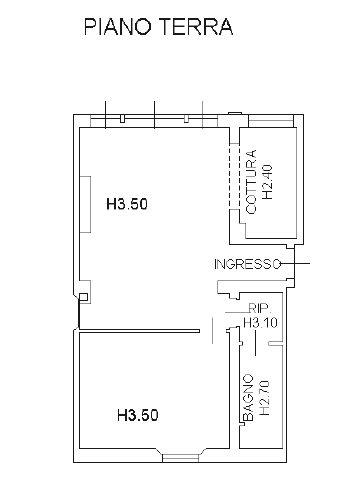 Planimetria 1/2 per rif. 8293-04