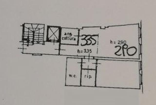 Planimetria 1/2 per rif. 6383-05
