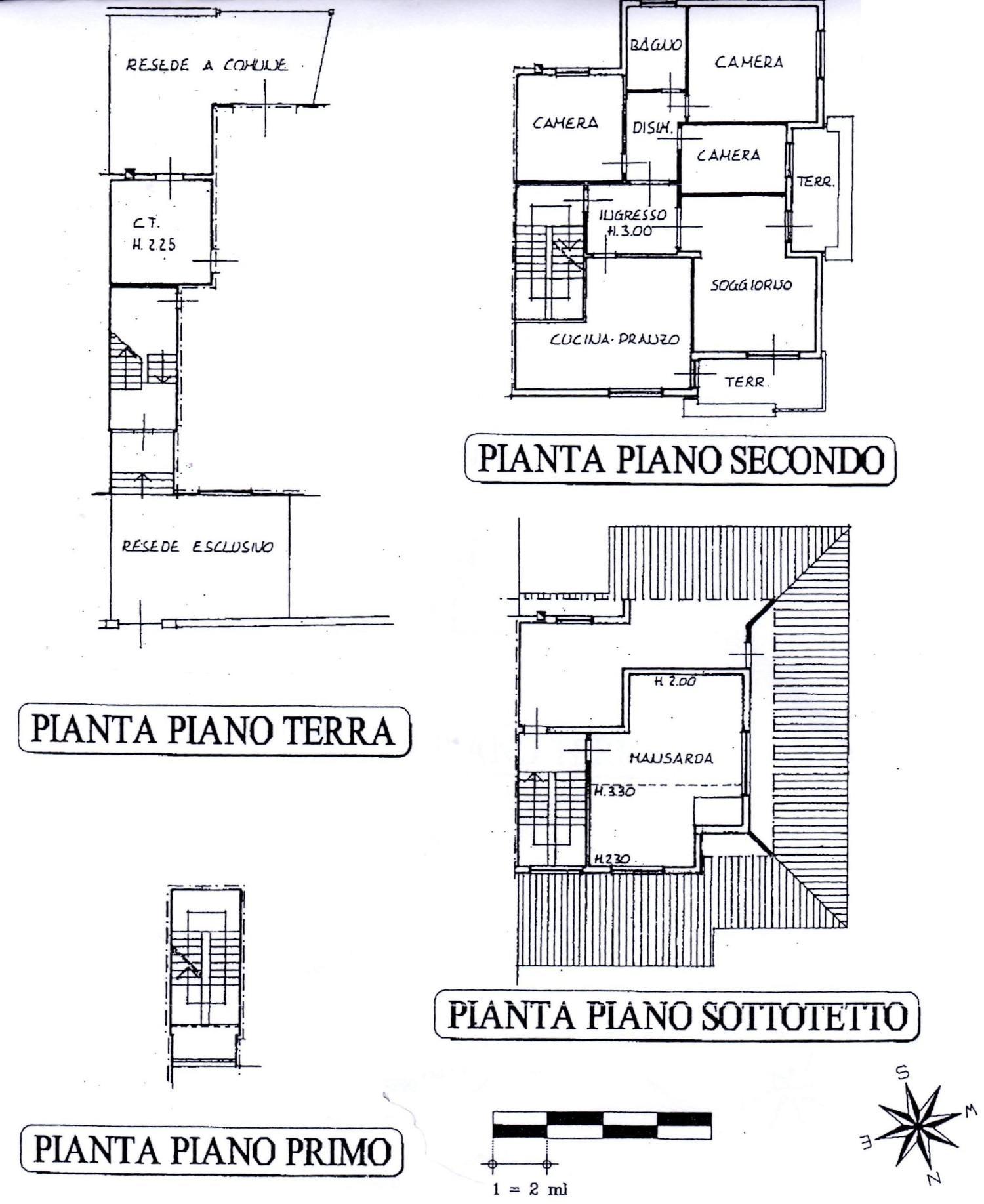 Planimetria 1/2 per rif. 8469