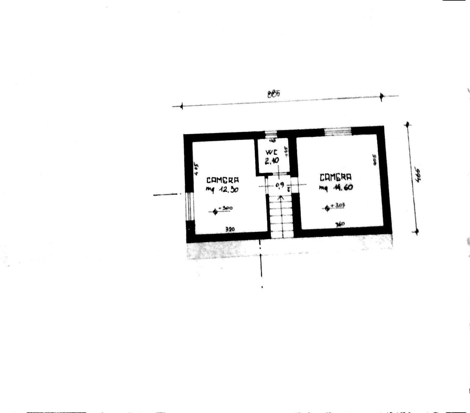 Planimetria 1/2 per rif. 8463