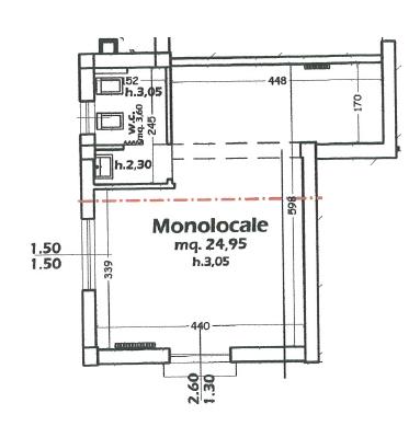 Planimetria 1/2 per rif. 7402-06