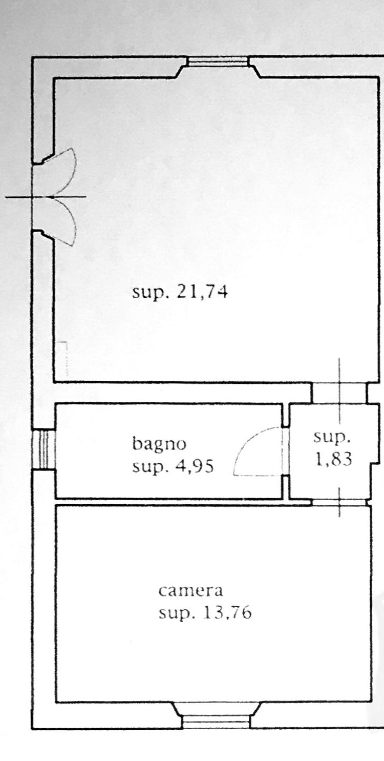 Planimetria 2/4 per rif. 7603-03