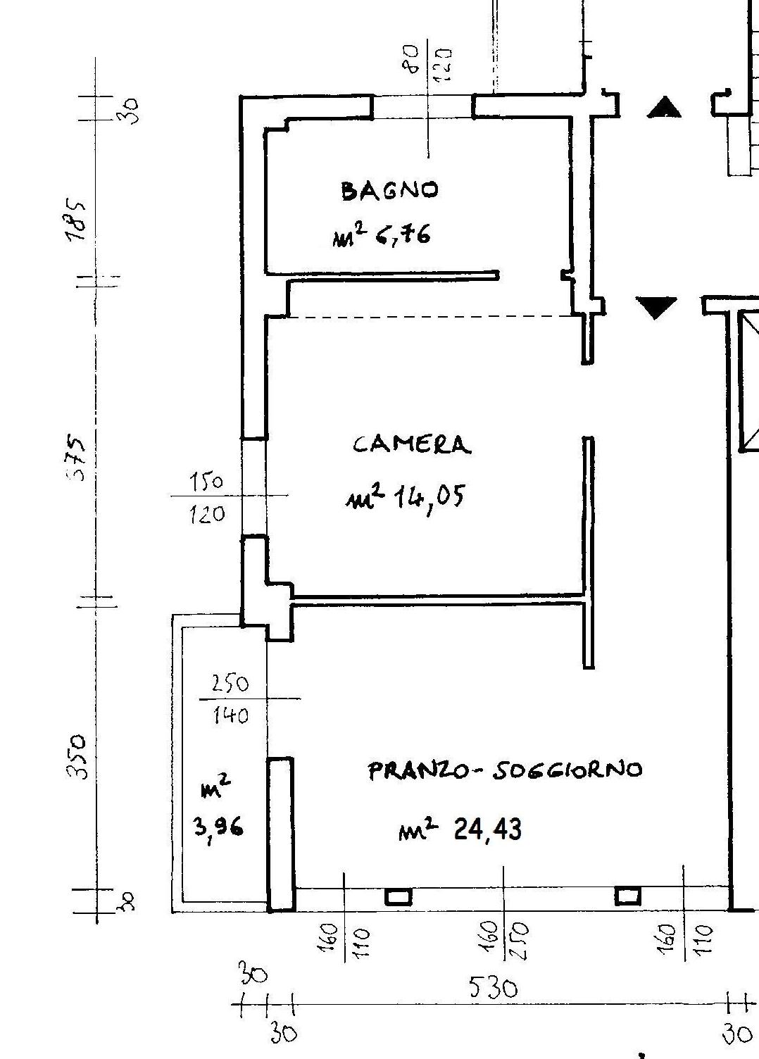 Planimetria 1/2 per rif. 6553-02