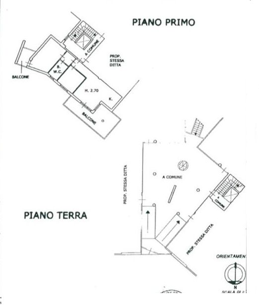 Planimetria 1/3 per rif. 8530