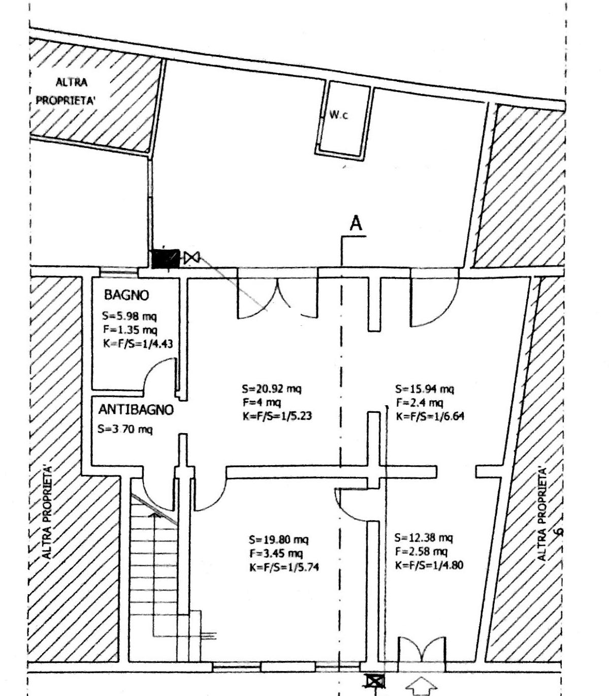 Planimetria 1/1 per rif. 8524