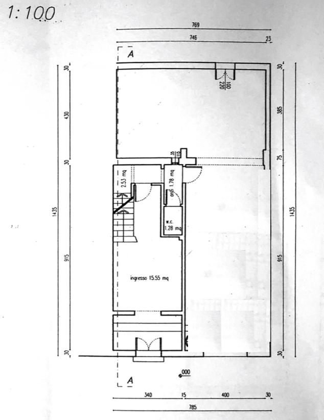 Planimetria 1/3 per rif. 8566-03