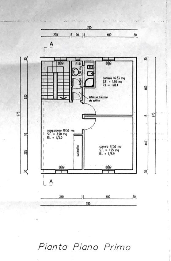 Planimetria 2/3 per rif. 8566-03