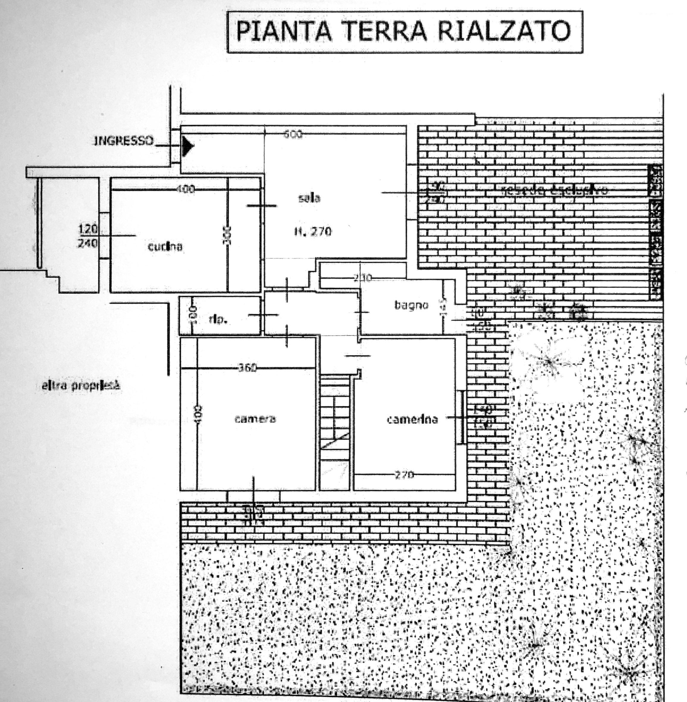 Planimetria 1/2 per rif. 8567