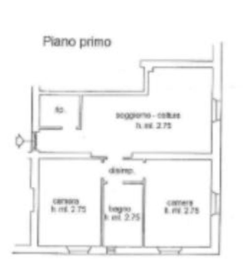 Planimetria 1/2 per rif. 8569-02