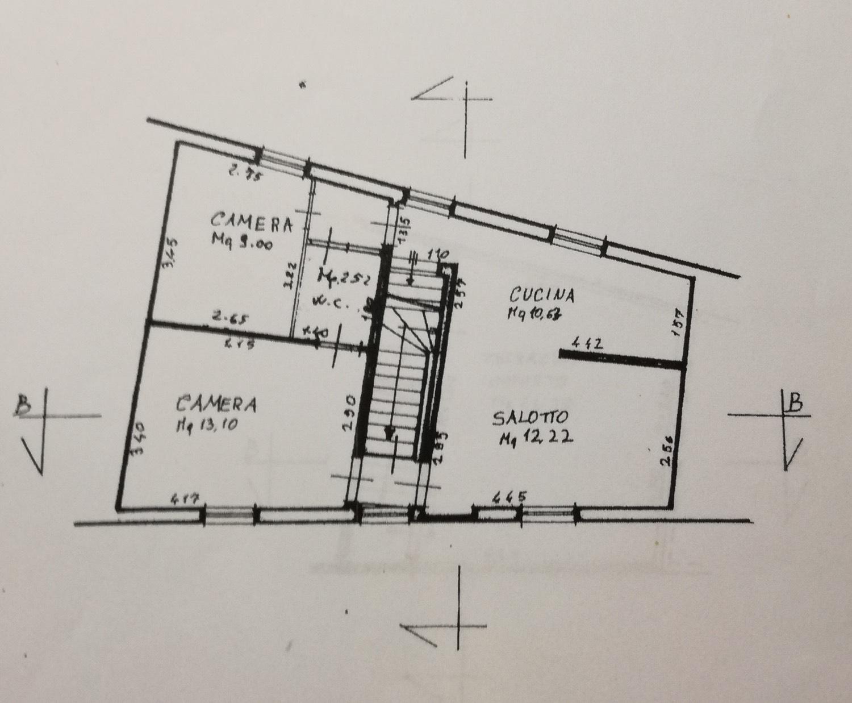 Planimetria 2/4 per rif. 8561