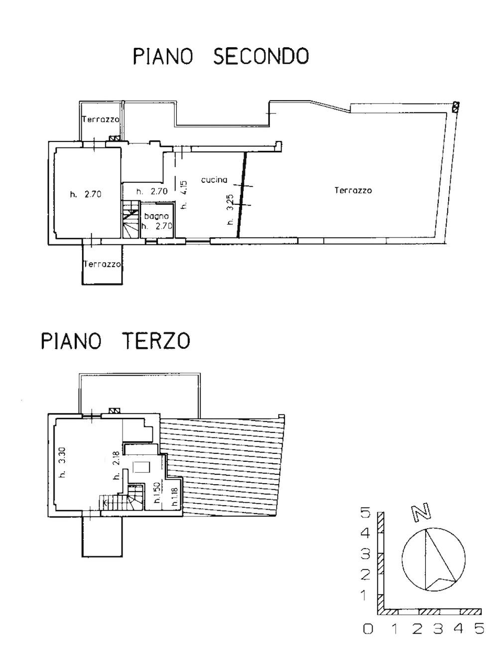 Planimetria 1/2 per rif. 8610-01