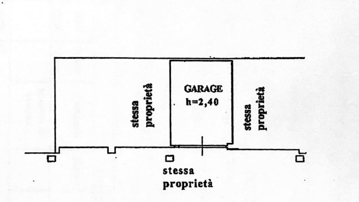 Planimetria 3/4 per rif. 8615