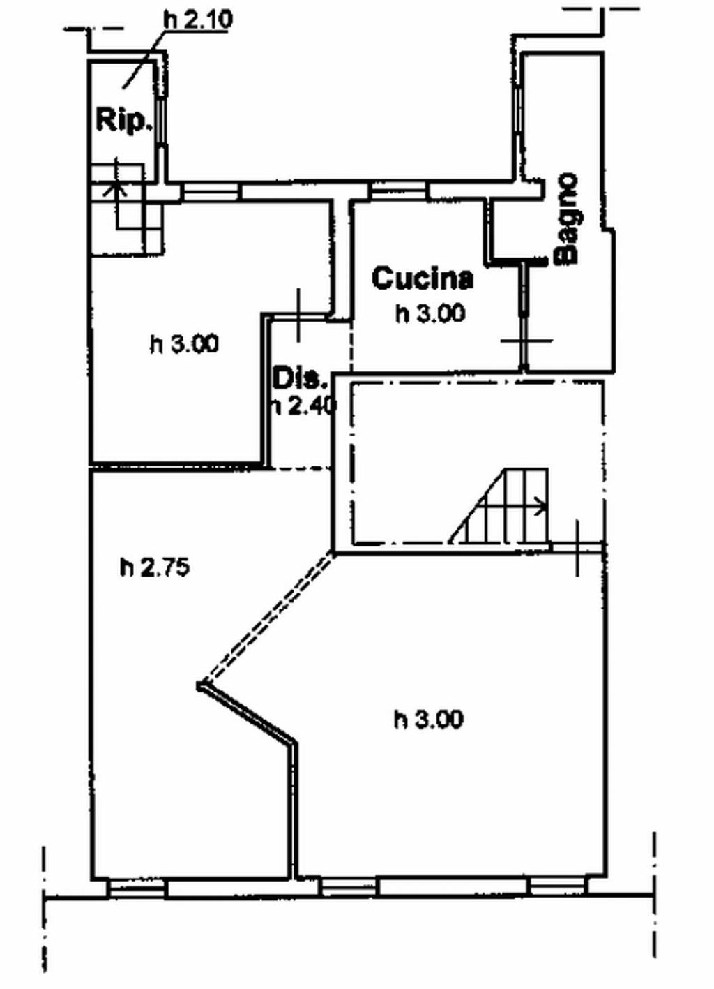 Planimetria 1/2 per rif. 8626-02