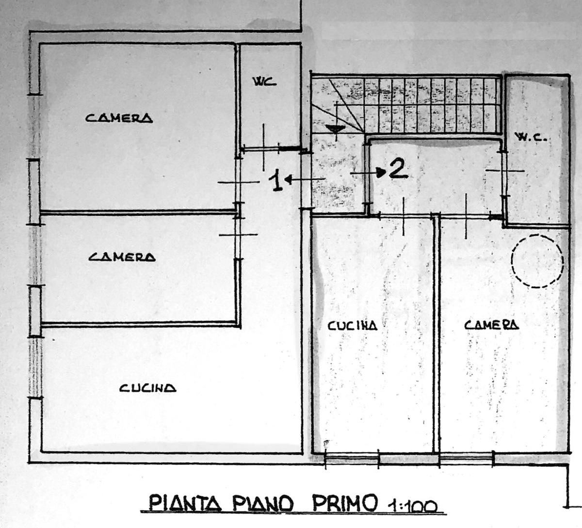 Planimetria 1/3 per rif. 8531