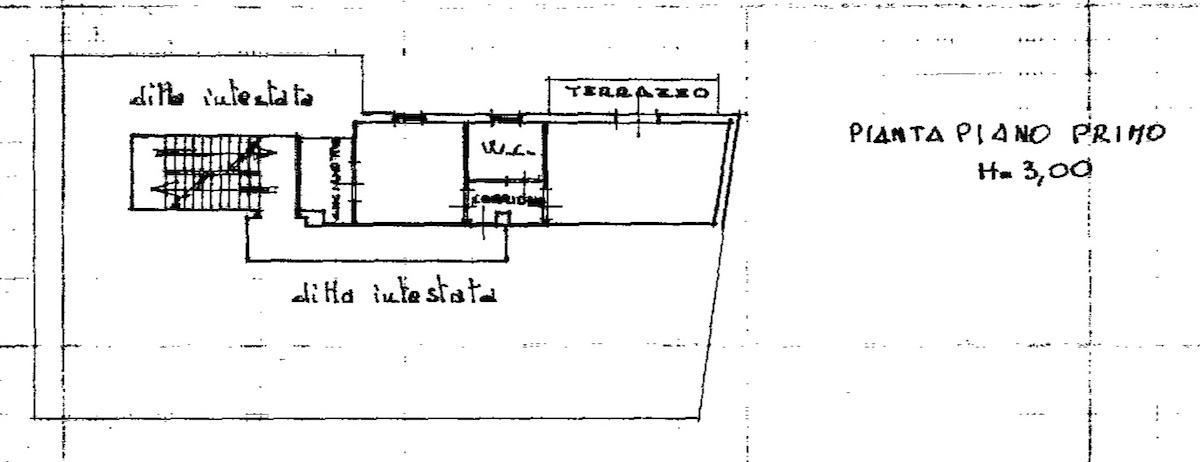 Planimetria 1/2 per rif. 8625-02