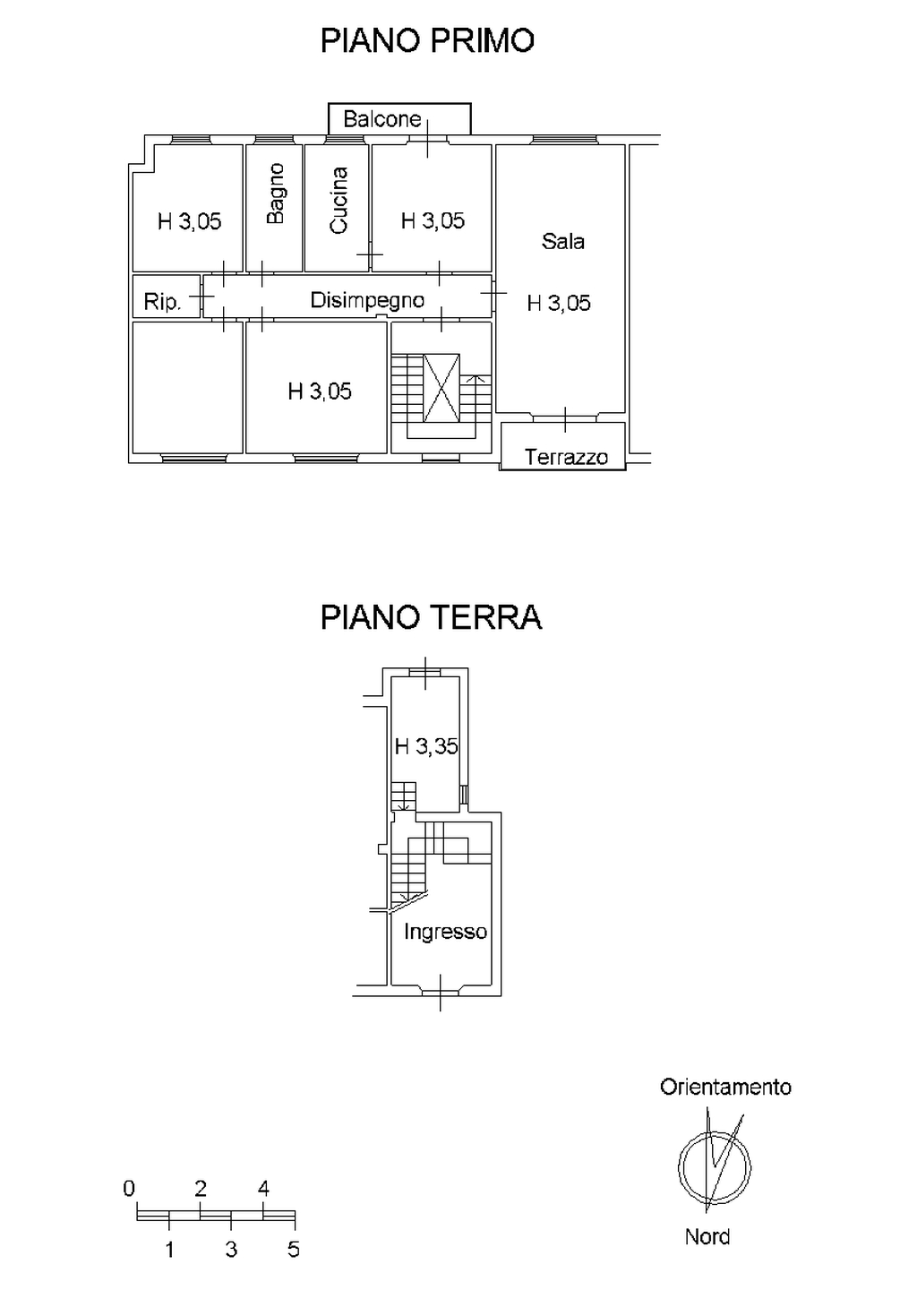 Planimetria 3/6 per rif. 8622