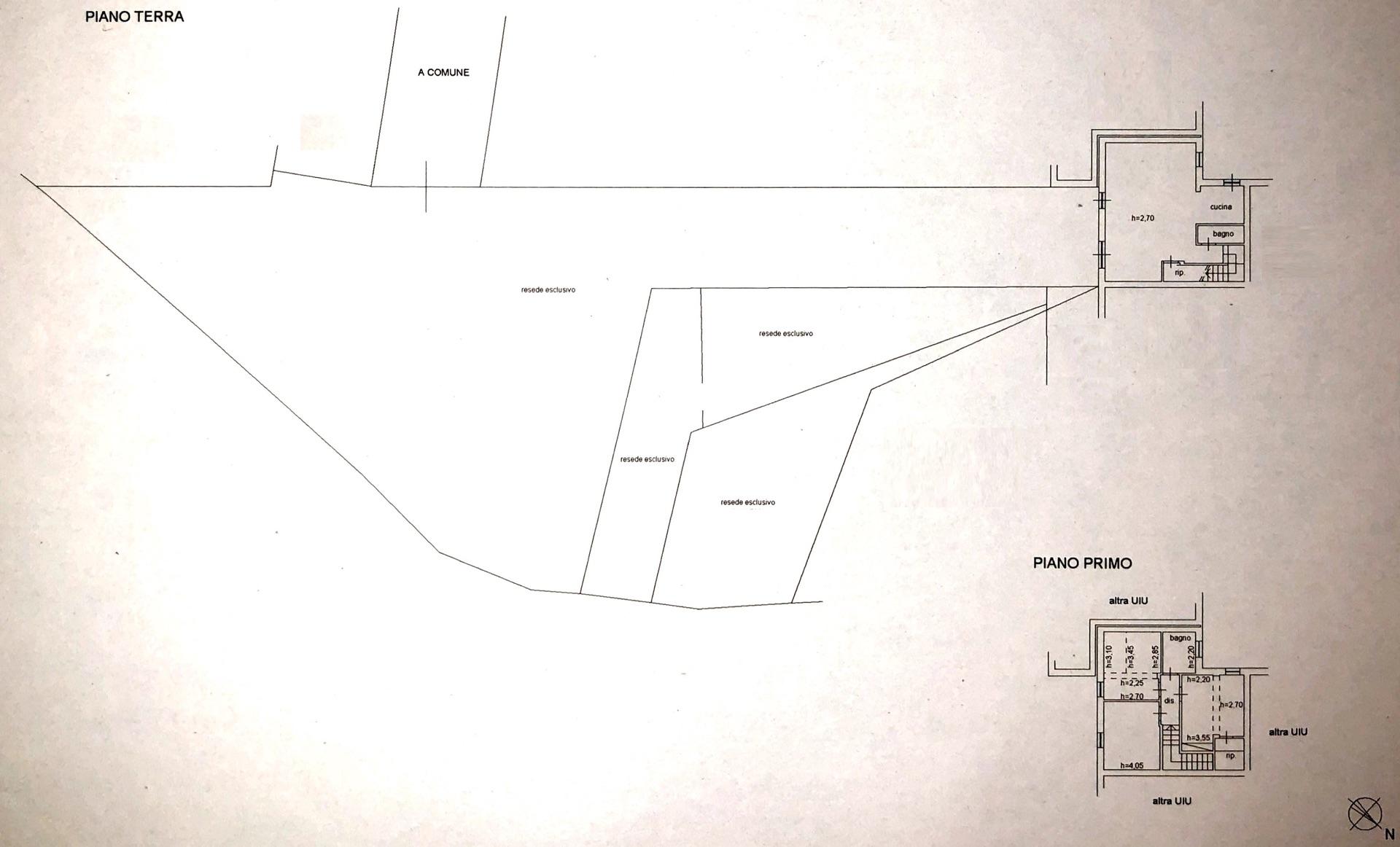 Planimetria 1/3 per rif. 8641