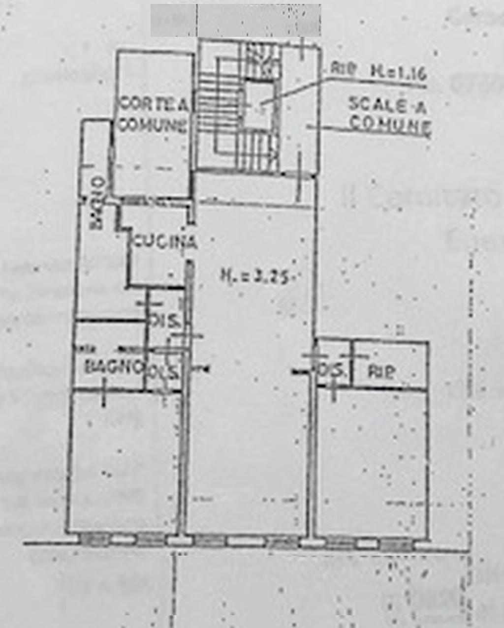 Planimetria 1/2 per rif. 7247-04