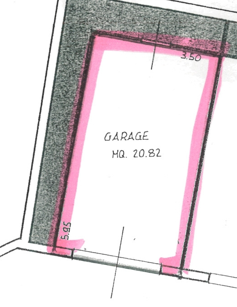 Planimetria 2/2 per rif. 7074-06