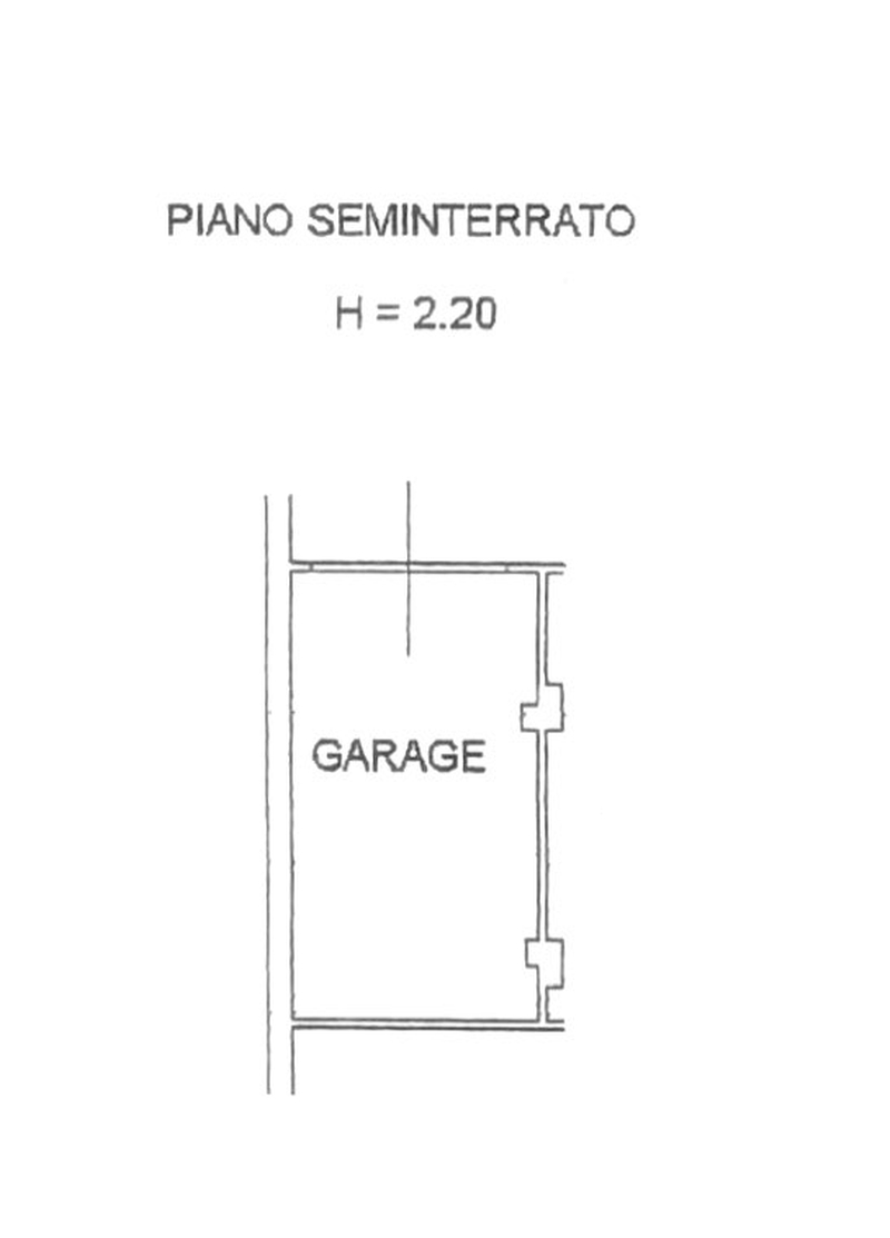 Planimetria 2/3 per rif. 8620