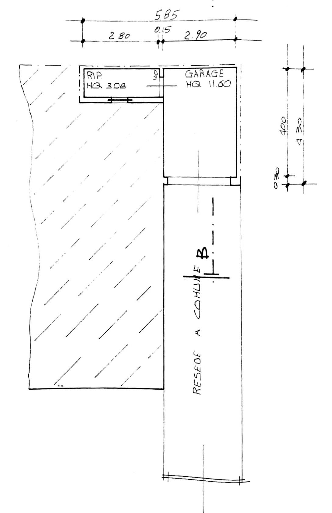 Planimetria 3/4 per rif. 8693