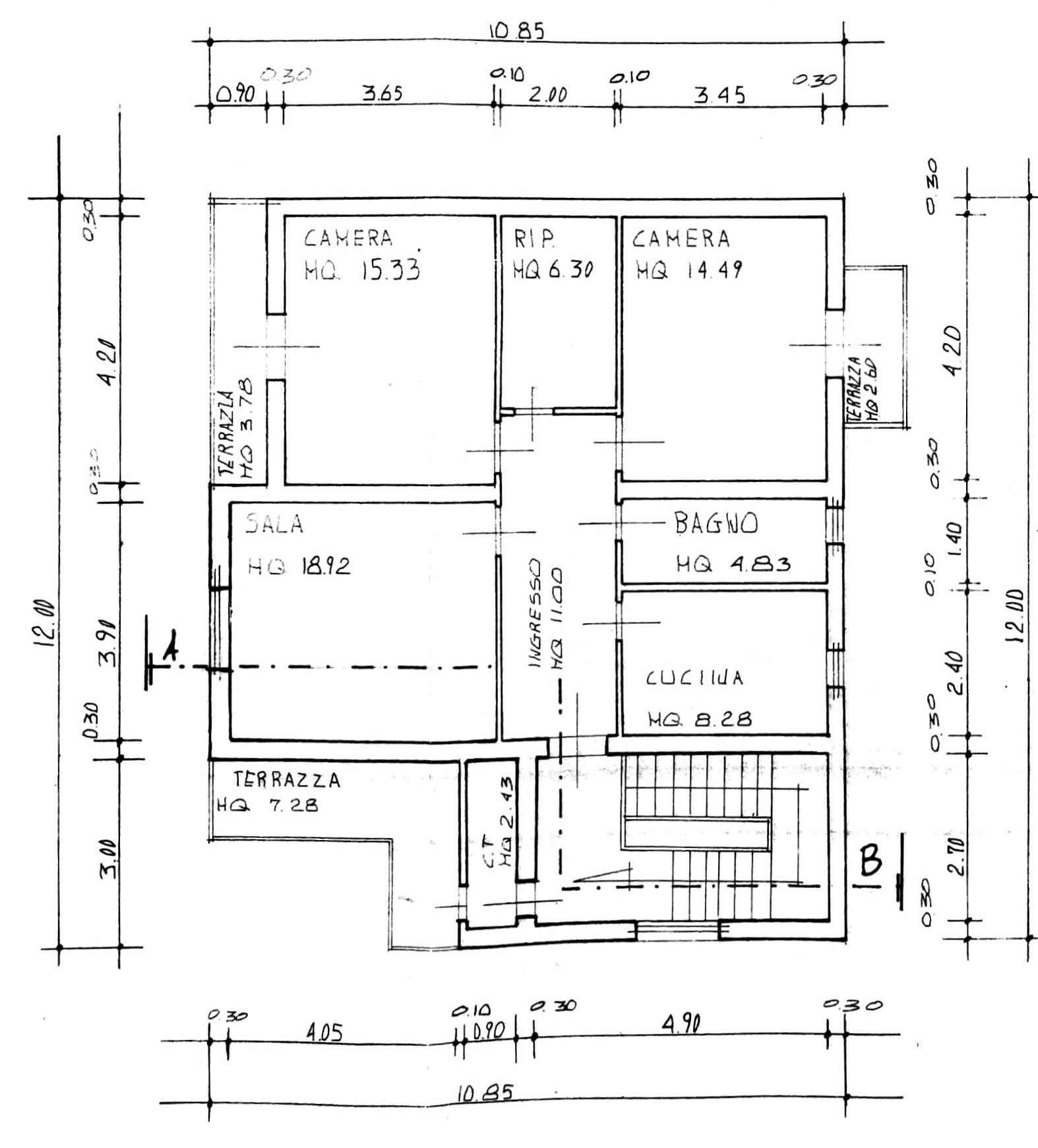 Planimetria 2/4 per rif. 8693