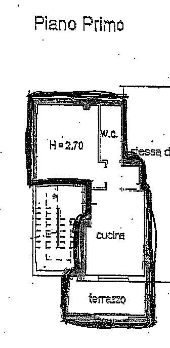 Planimetria 1/3 per rif. 8665