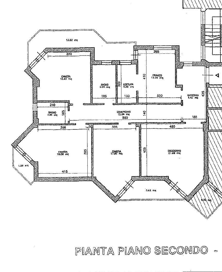 Planimetria 1/1 per rif. 8701