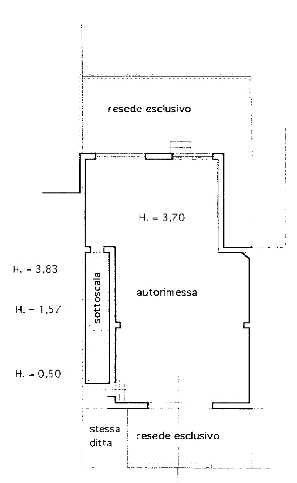 Planimetria 2/2 per rif. 8694