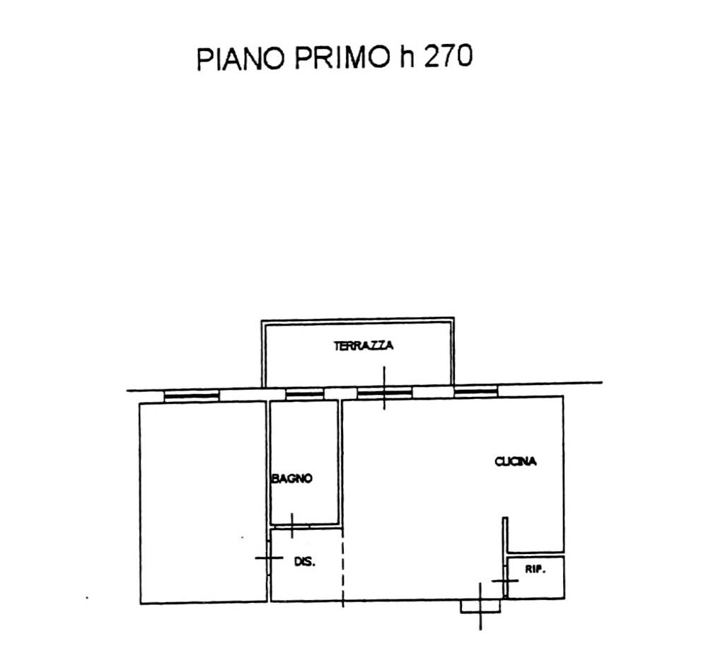 Planimetria 1/3 per rif. 8716