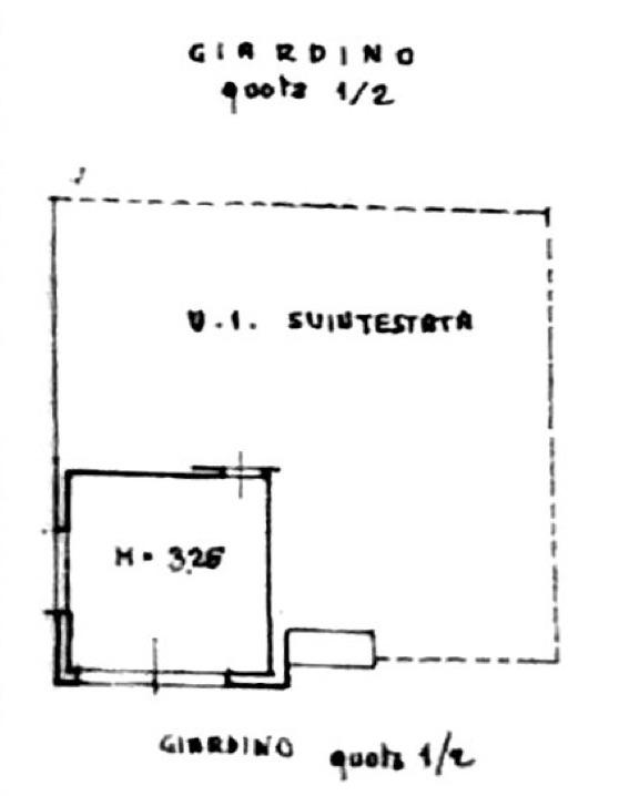 Planimetria 2/3 per rif. 8718