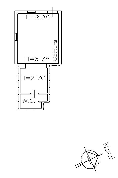 Planimetria 1/2 per rif. 8724