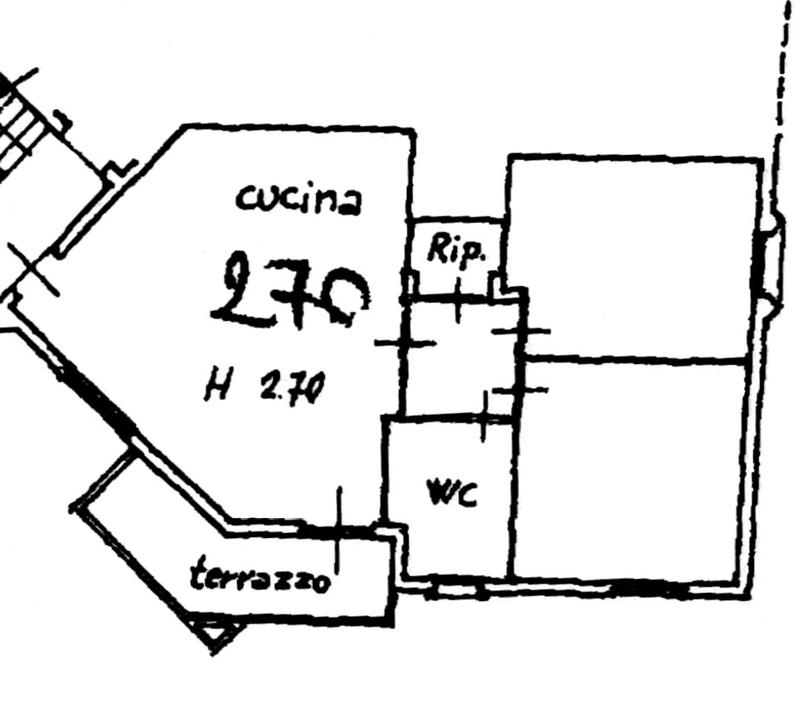 Planimetria 1/2 per rif. 6036