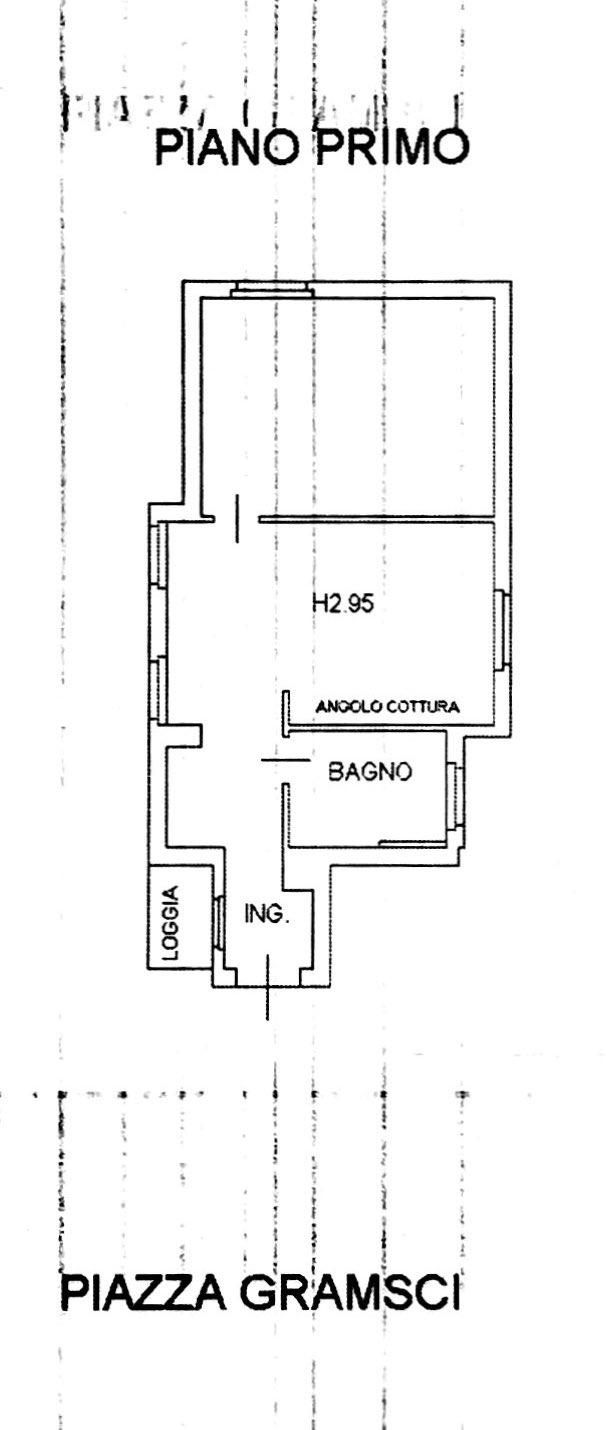 Planimetria 1/2 per rif. 8738-02