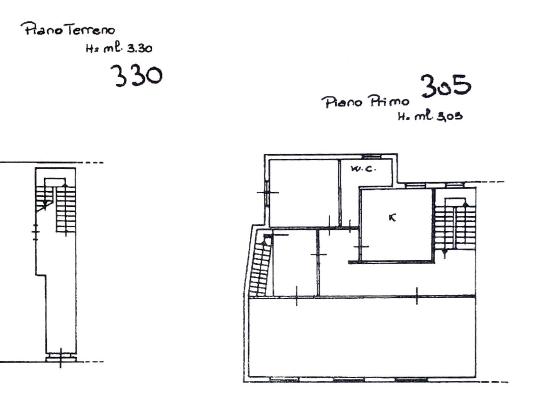 Planimetria 1/2 per rif. 8522