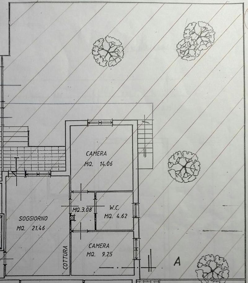 Planimetria 1/3 per rif. 8747